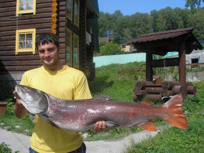 фото с телецкого рыбалка